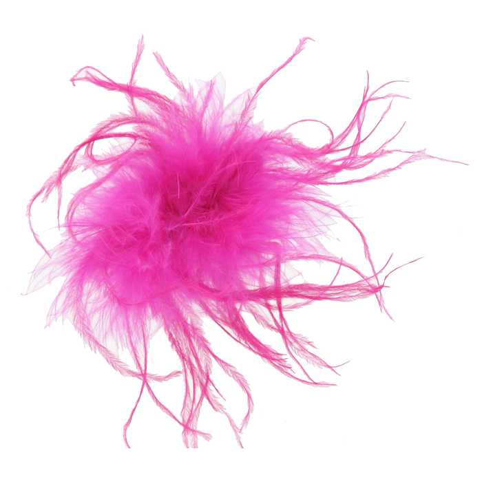 Feather Pink Saddle Hackles Dyed Earrings feathers Millinery Jewelry Crafts supplies Hair accessories FA22